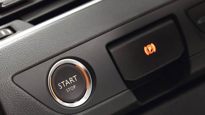 Peugeot 508 SW Engine Start Stop Button