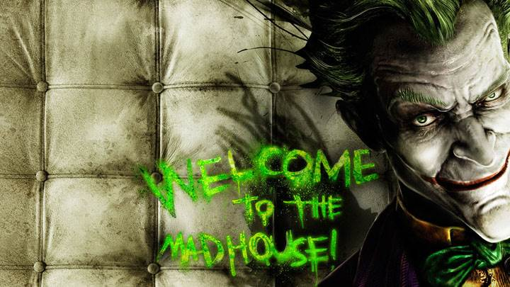 Welcome To The Jokers Mad House