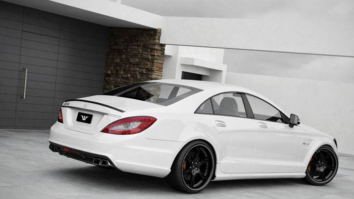 Wheelsandmore Mercedes CLS63 Amg Back Side