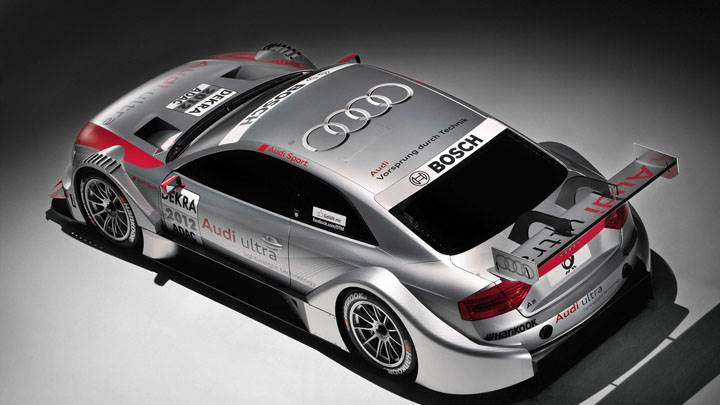 2012 Audi A5 DTM Side Back View Pose