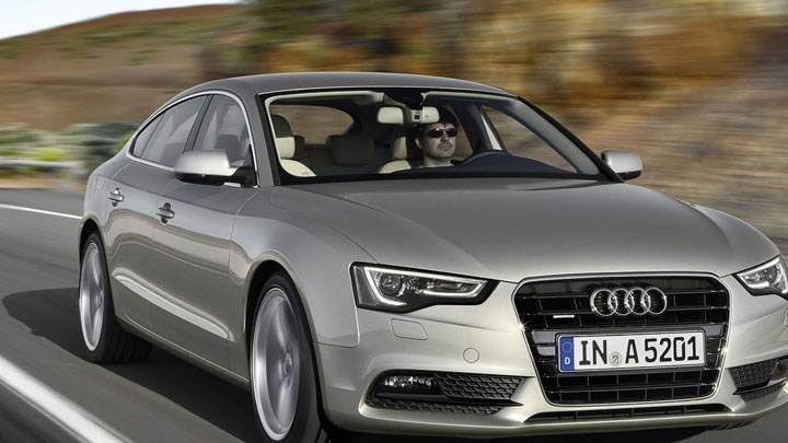 2012 Audi A5 Sportback In Grey Color