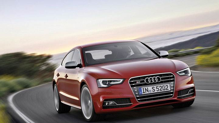 2012 Audi S5 Sportback in Red Color