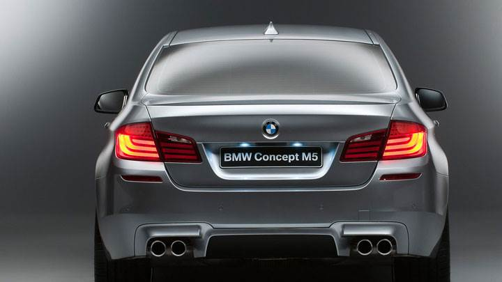 2012 BMW M5 Concept Back Pose