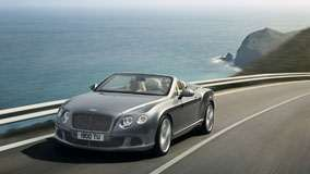 2012 Bentley Continental GTC Running on Highway