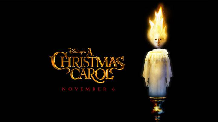 A Christmas Carol – Logo On Black Background