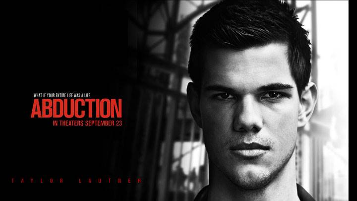 Abduction – Taylor Lautner Black And White Cute Face Closeup