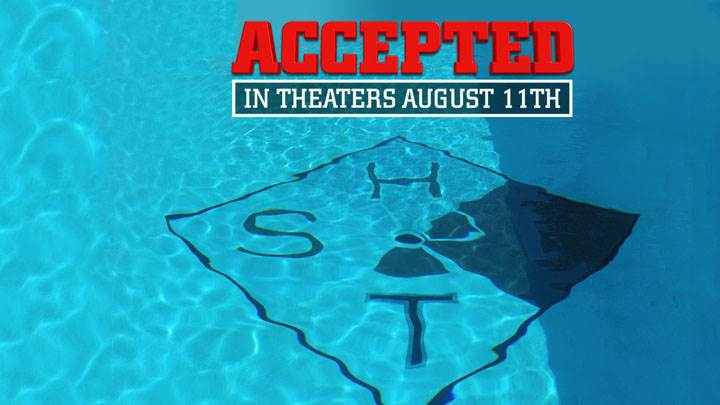 Accepted – Blue Cover Poster