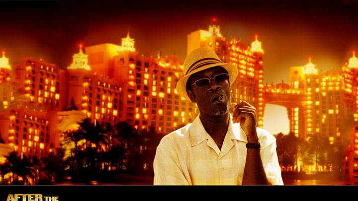 After The Sunset – Don Cheadle In White Shirt And Hat