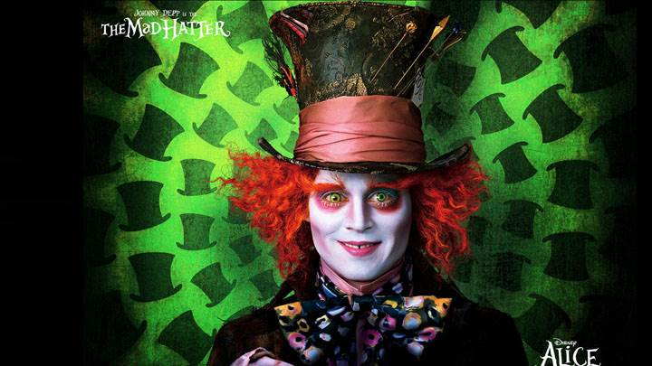 Alice In Wonderland – Johnny Depp Smiling