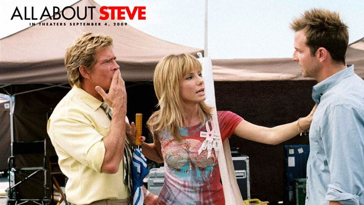All About Steve – Sandra Bullock, Thomas Haden Church And Bradley Cooper Talking Each Other