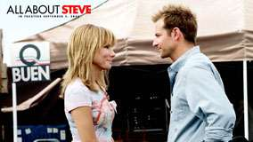 All About Steve – Sandra Bullock And Bradley Cooper Smiling And Looking Each Other