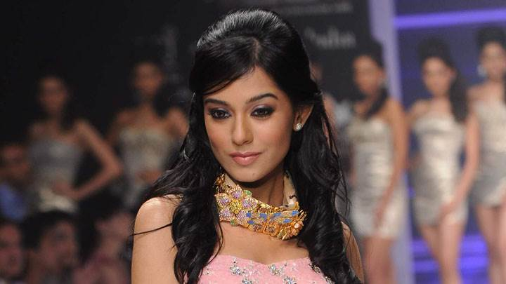 Amrita Rao In Pink Dress Modeling Photoshoot