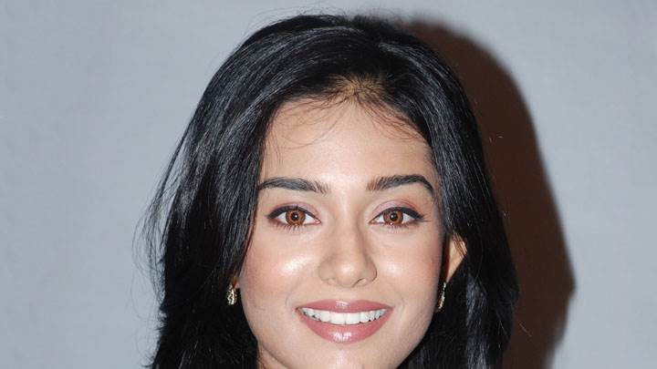 Amrita Rao Smiling Face Closeup And Brown Eyes
