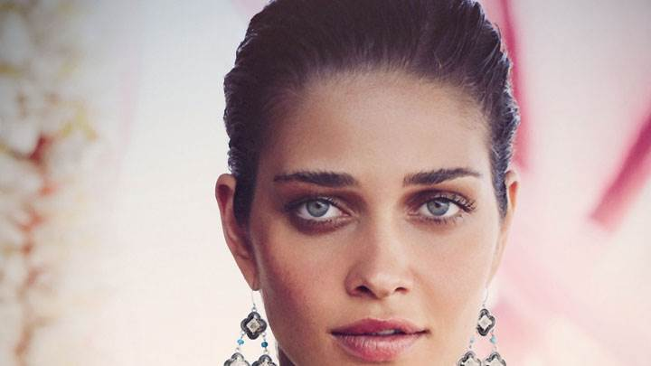Ana Beatriz Barros In Long Earings And Face Closeup