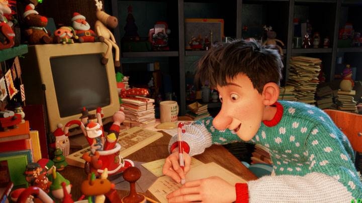 Arthur Christmas – Writing On A Paper