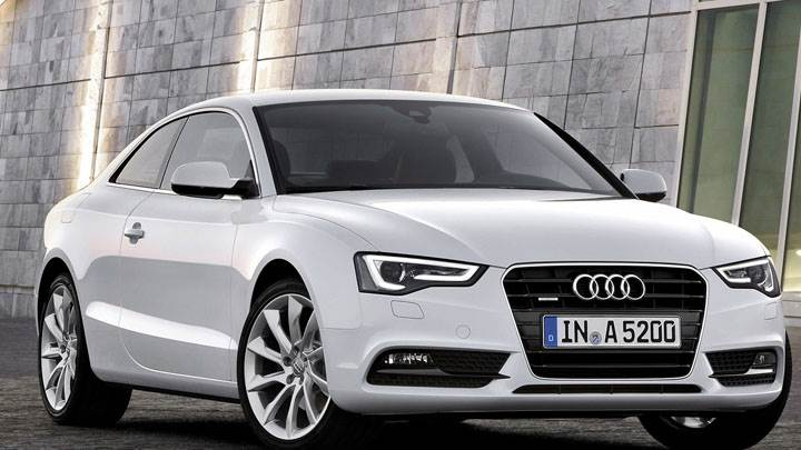Audi A5 Coupe 2012 Front Picture