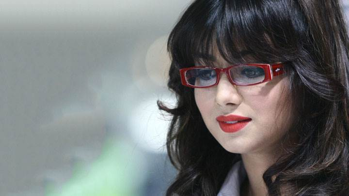 Ayesha Takia In Red Lips Cute Looking