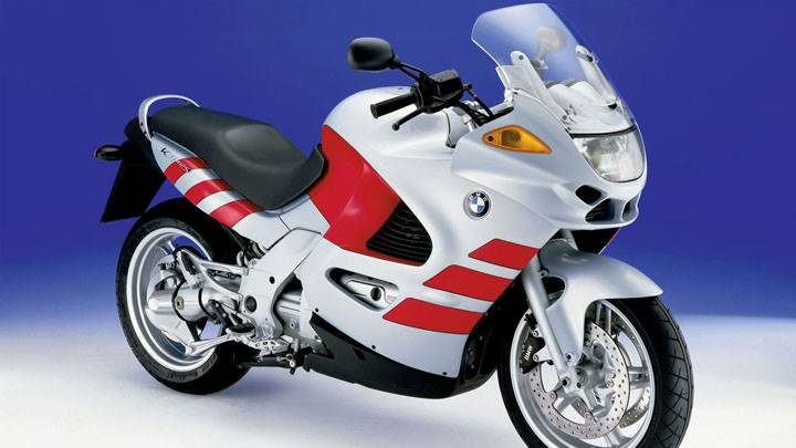 BMW K1200RS Front Picture in White