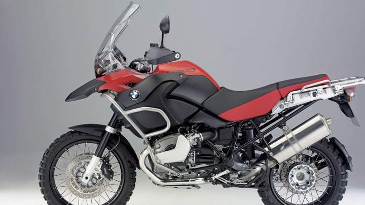 BMW R1200GS In Red And Black