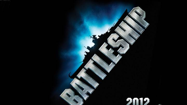 Battleship – Movie Cover Poster On Black Background