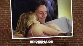 Bridesmaids &#8211; Jon Hamm Smiling On Bed