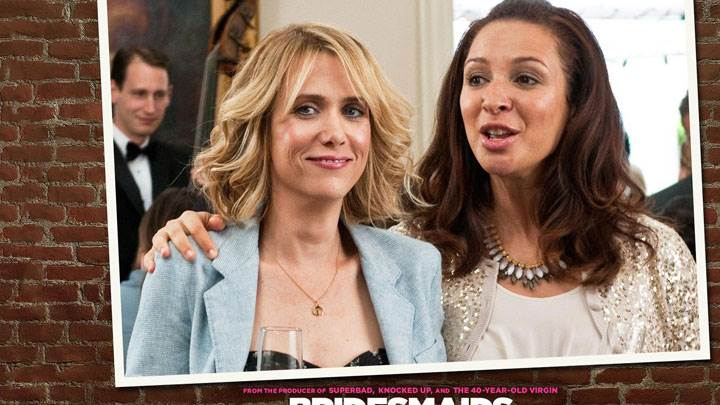 Bridesmaids – Kristen Wiig And Maya Rudolph Smiling