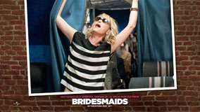 Bridesmaids – Kristen Wiig Looking Upside And Mouth Open