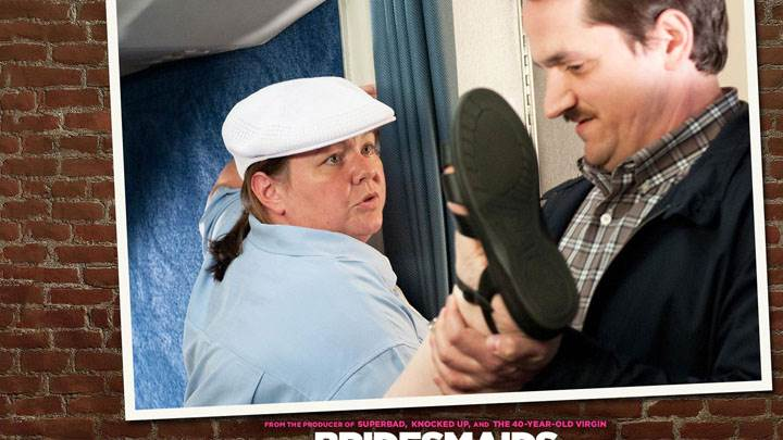 Bridesmaids – Melissa Mccarthy In White Cap