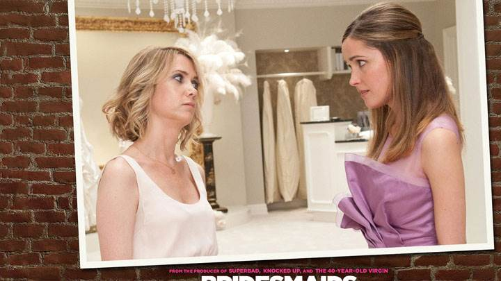 Bridesmaids – Rose Byrne And Kristen Wiig