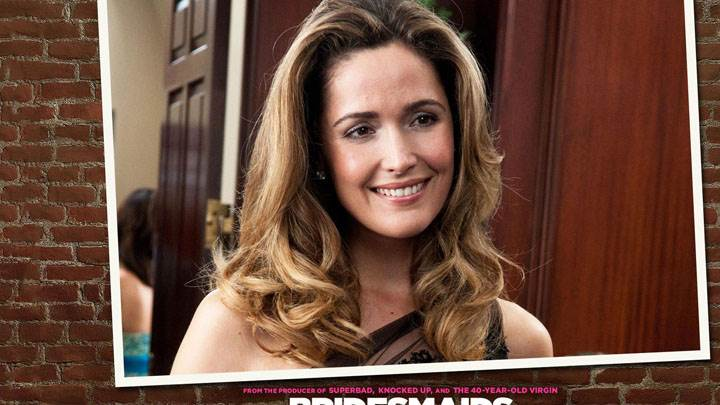 Bridesmaids – Rose Byrne Smiling