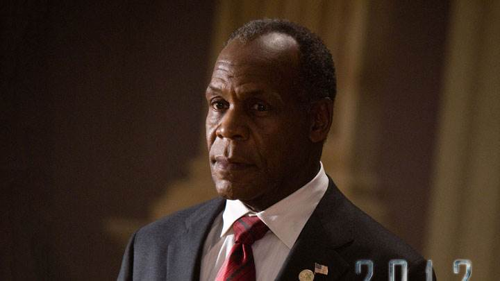 Danny Glover In Black Coat