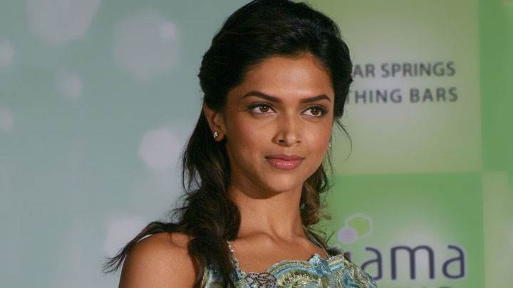 Deepika Padukone Cute Face In Event