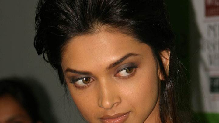 Deepika Padukone Looking Side Face Closeup
