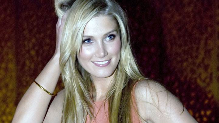 Delta Goodrem Blue Eyes Cute Smiling Face