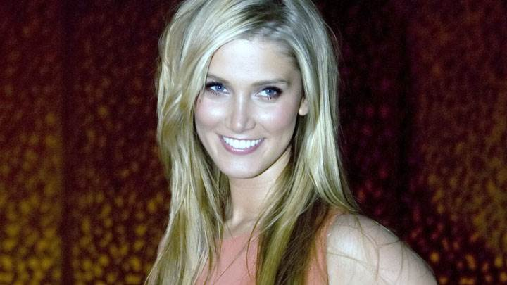 Delta Goodrem Smiling Looking Front