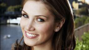 Delta Goodrem Sweet Smiling Face Closeup