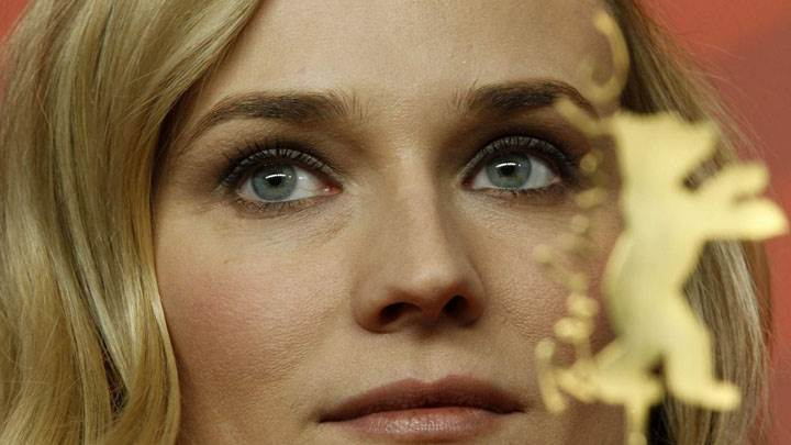 Diane Kruger Cute Eyes Face Closeup