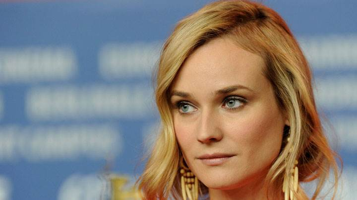 Diane Kruger Cute Innocent Face Closeup