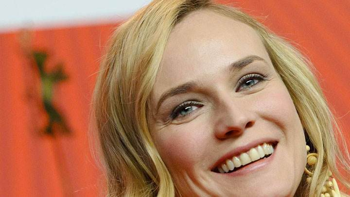 Diane Kruger Sweet Smiling Face Closeup