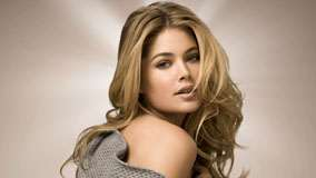 Doutzen Kroes Looking Back And Golden Hairs Photoshoot