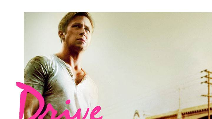 Drive – Ryan Gosling In White T Shirt