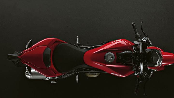 Ducati Streetfighter Top View Picture