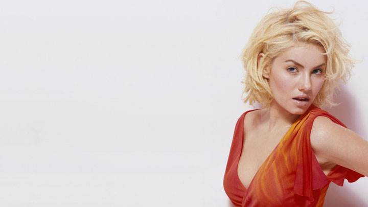 Elisha Cuthbert In Red Dress