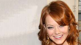 Emma Stone Smiling Pink Lips And Cute Eyes