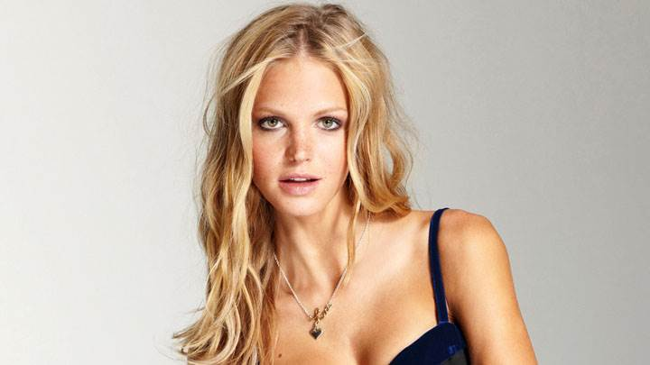 Erin Heatherton Looking Front Golden Hairs