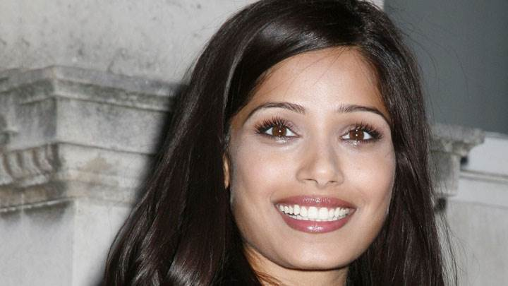 Freida Pinto Smiling At Camera