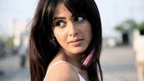 Genelia D'souza Looking Back Face Closeup