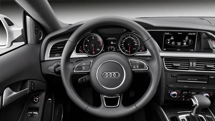 Interior of 2012 Audi A5 Coupe