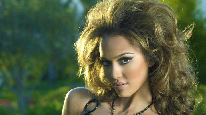 Jessica Alba Cute Face Photoshoot