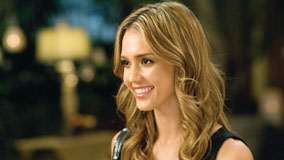 Jessica Alba Smiling Side Face Photoshoot